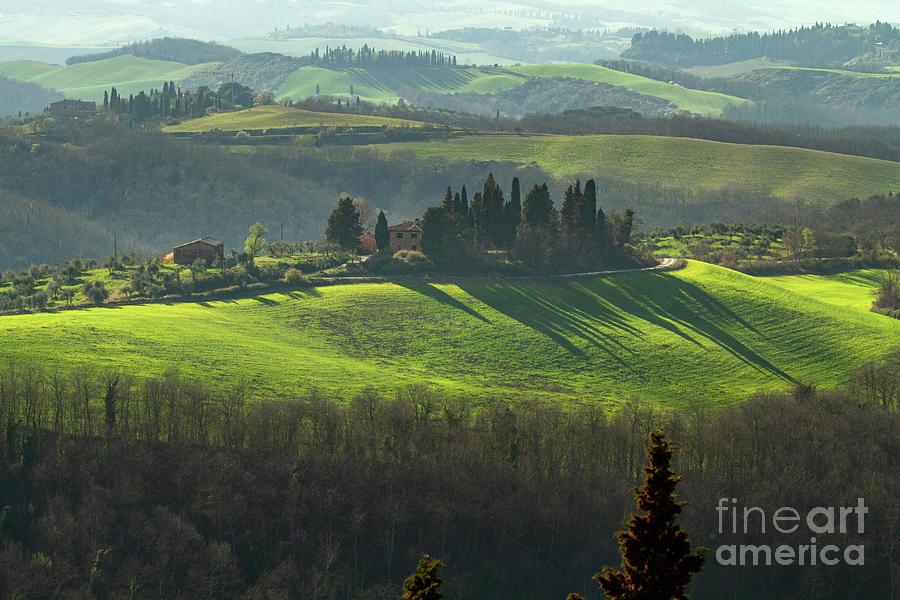 Farmland in Le Crete Senesi, Tuscany-1 by Heiko Koehrer-Wagner