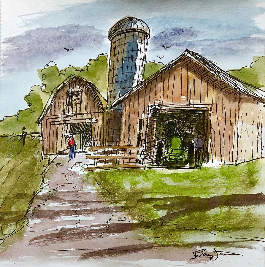 Farmland Rhapsody by Barry Jones