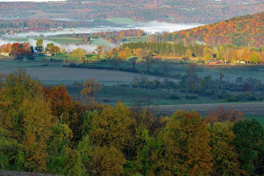 Farmland Sunrise. by Bill Wakeley