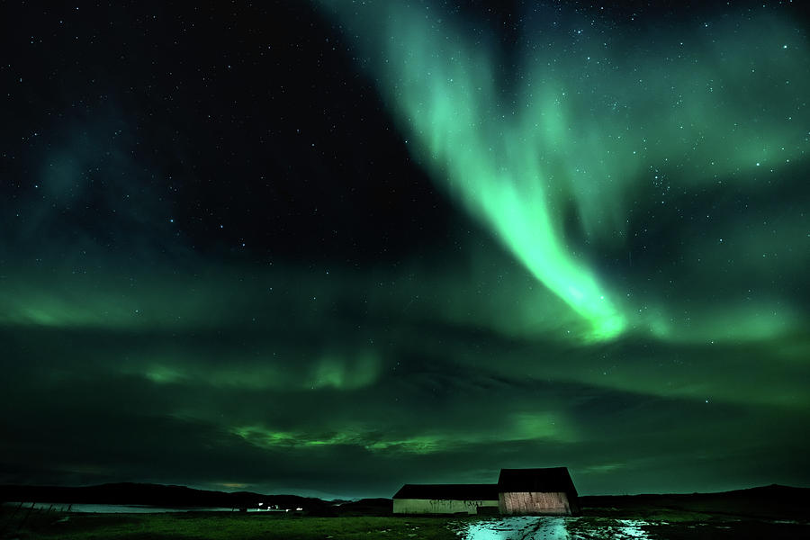 Iceland Photograph - Farmyard Light by Framing Places