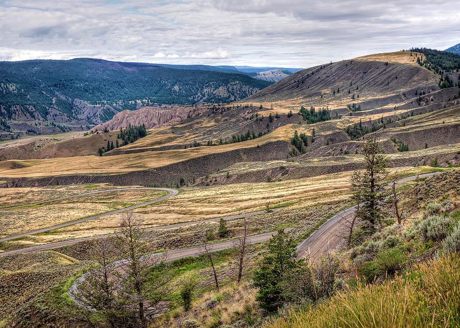 Farwell Canyon Approach by Doug Matthews