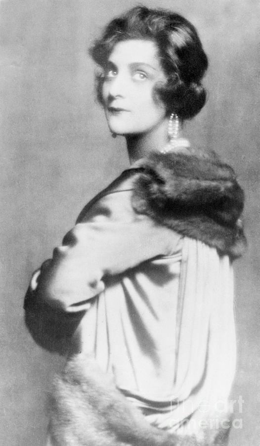Fashion Designer Gabrielle Coco Chanel By Bettmann