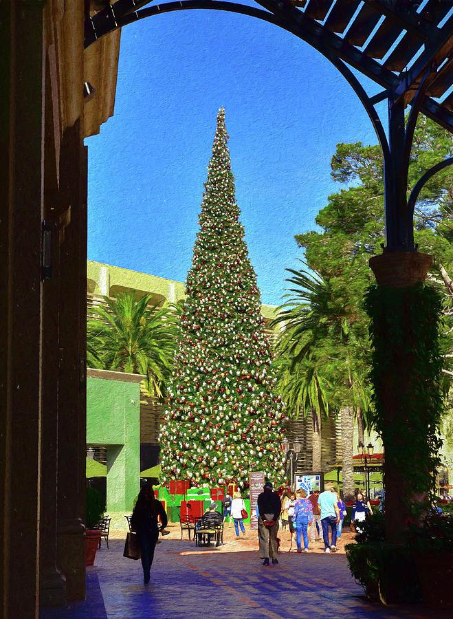 Island Christmas Tree.Fashion Island Christmas Tree 2 Impression And Texture