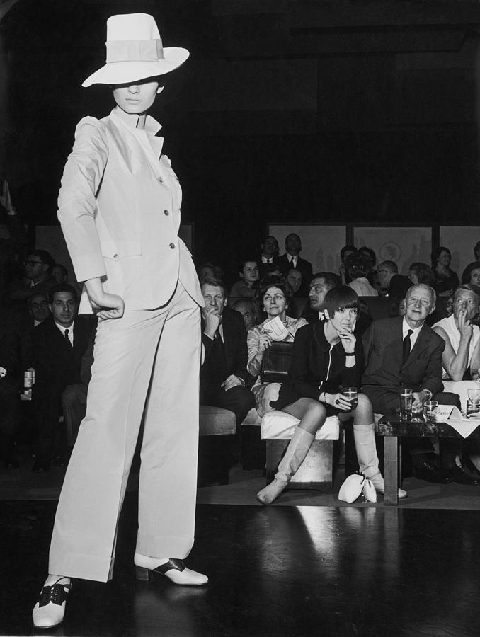Fashion  Ladys Suit By Mary Quant Photograph by Keystone-france