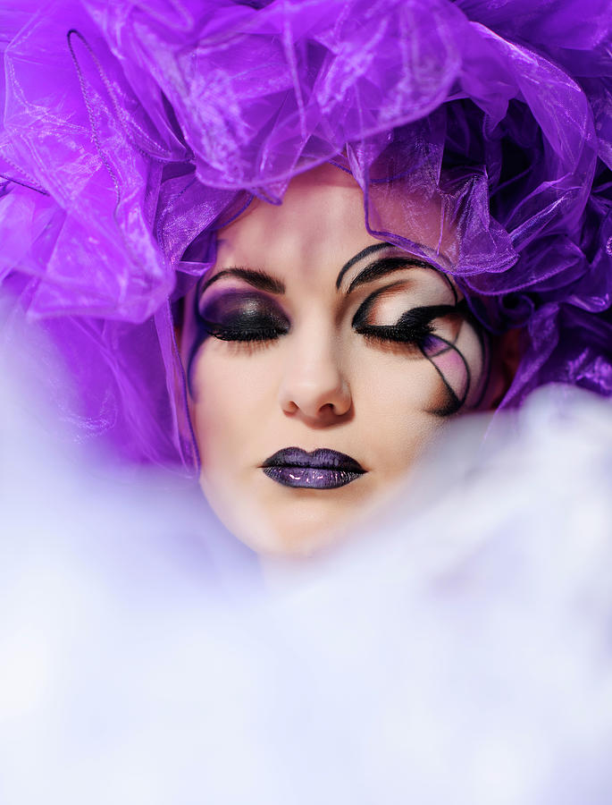 Fashion Makeup Photograph by Stock colors