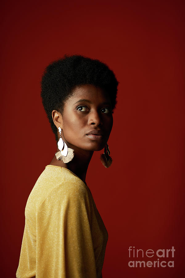 Fashion Portrait Of African American Photograph by Tempura