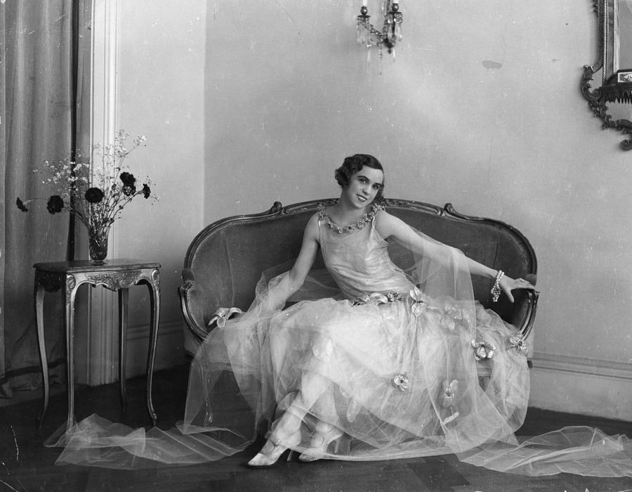 Fashion Sitting Photograph by Sasha