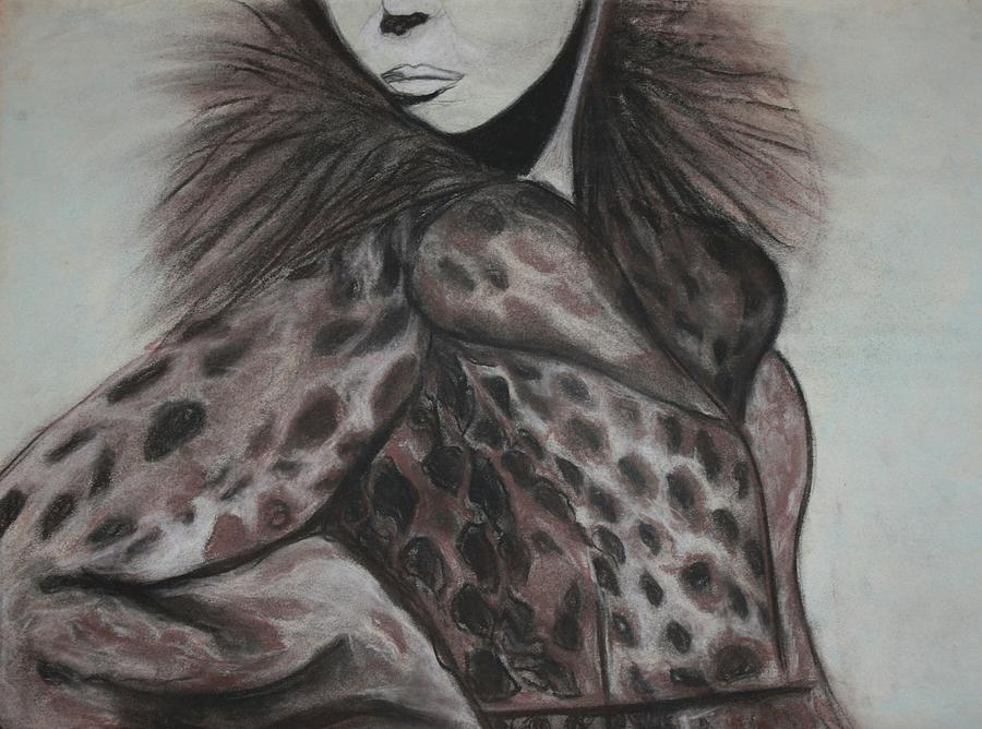 Fashionista by The Art Of Marilyn Ridoutt-Greene