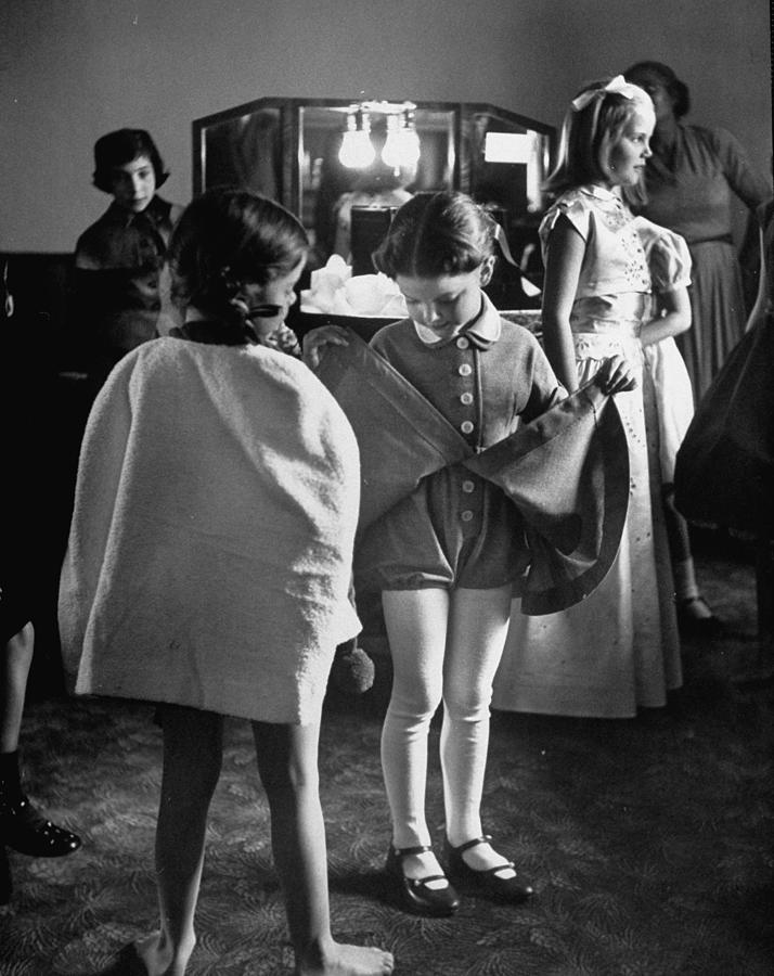 Fashions Childrens Photograph by Nina Leen