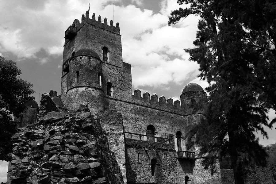 Fasilides Castle, Gondar, Ethiopia by Aidan Moran
