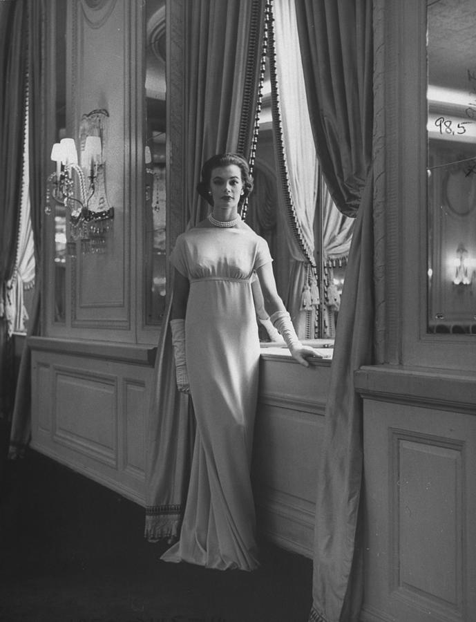 Fasion By Charles James Photograph by Nina Leen