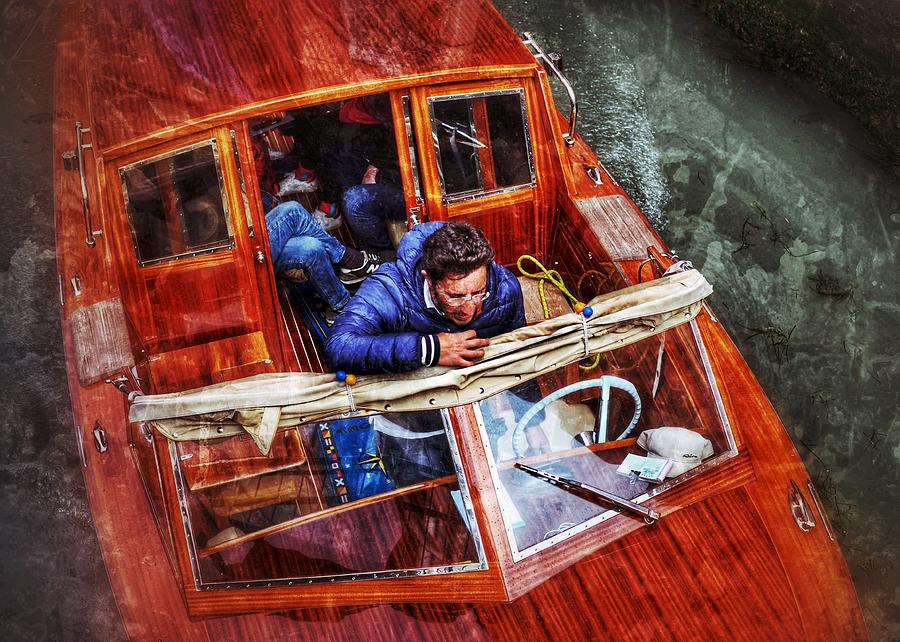 Fast Boat by Al Harden