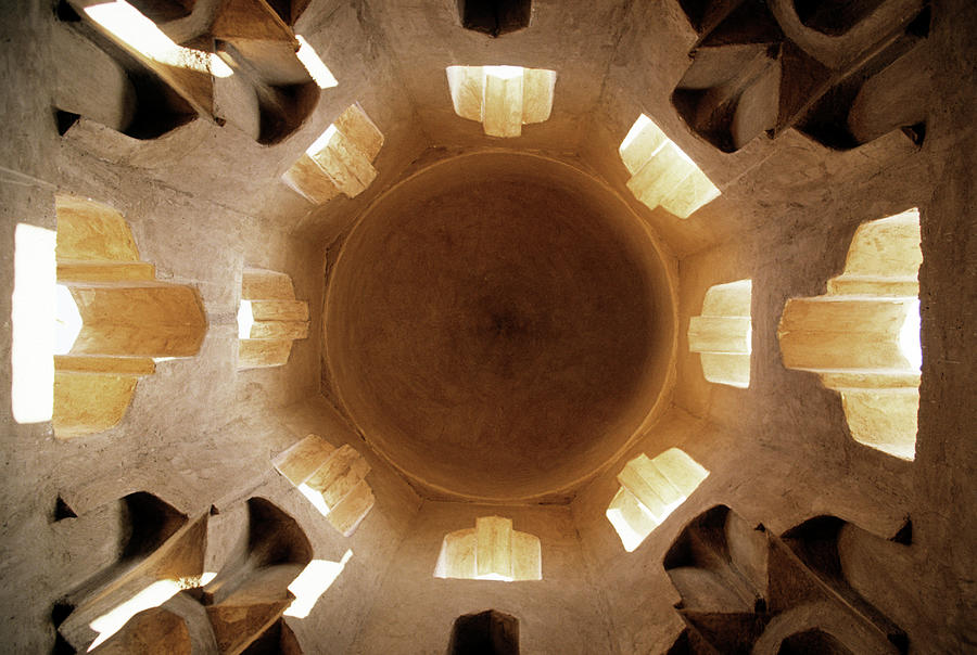Ceiling Photograph - Fatamid Tombs, Old Muslim Cemetery by James Morris