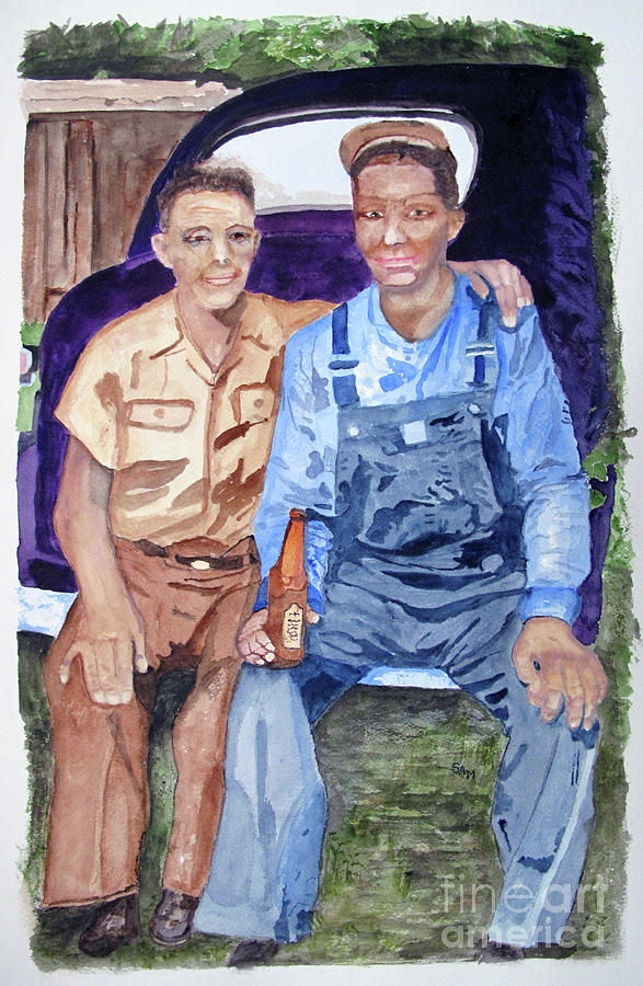 Father and Son by Sandy McIntire