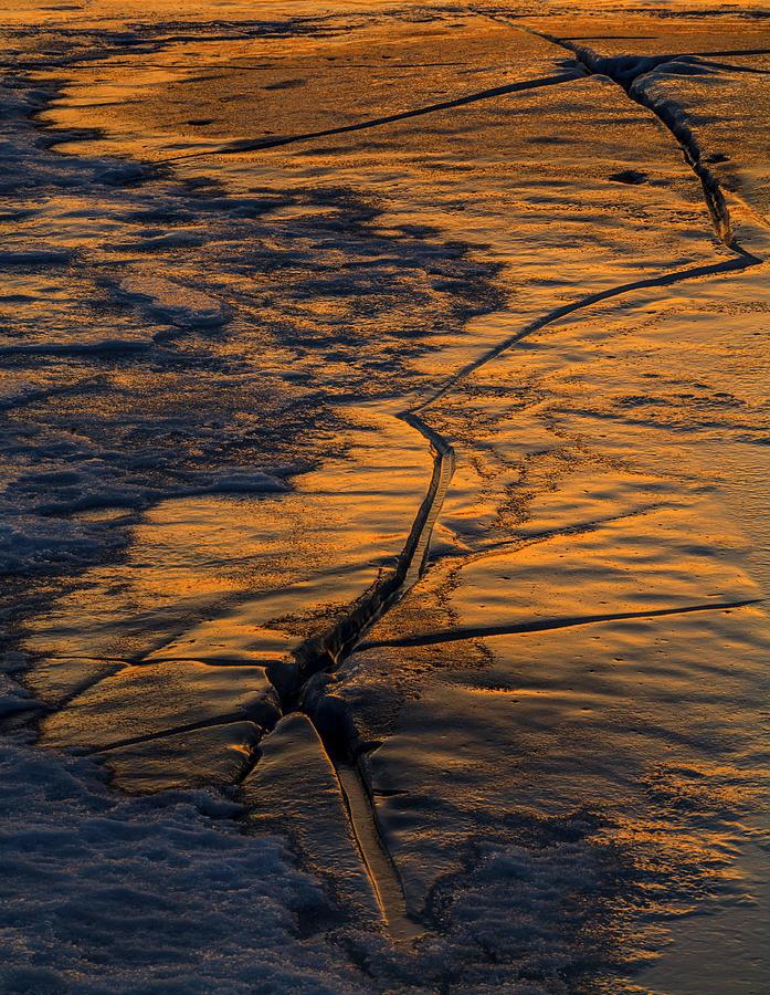 Fault Line Sundown by Irwin Barrett