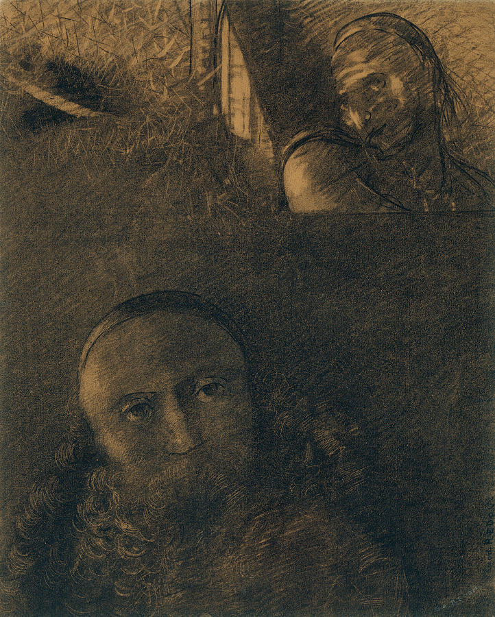 Faust and Mephistopheles by Odilon Redon