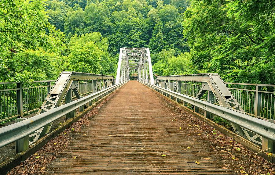 Fayette Station Bridge by Dan Sproul