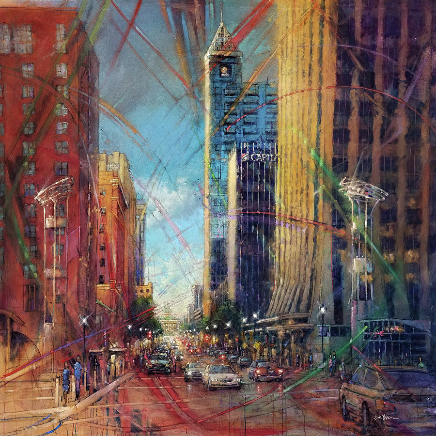 Fayetteville Street Presence - North Painting