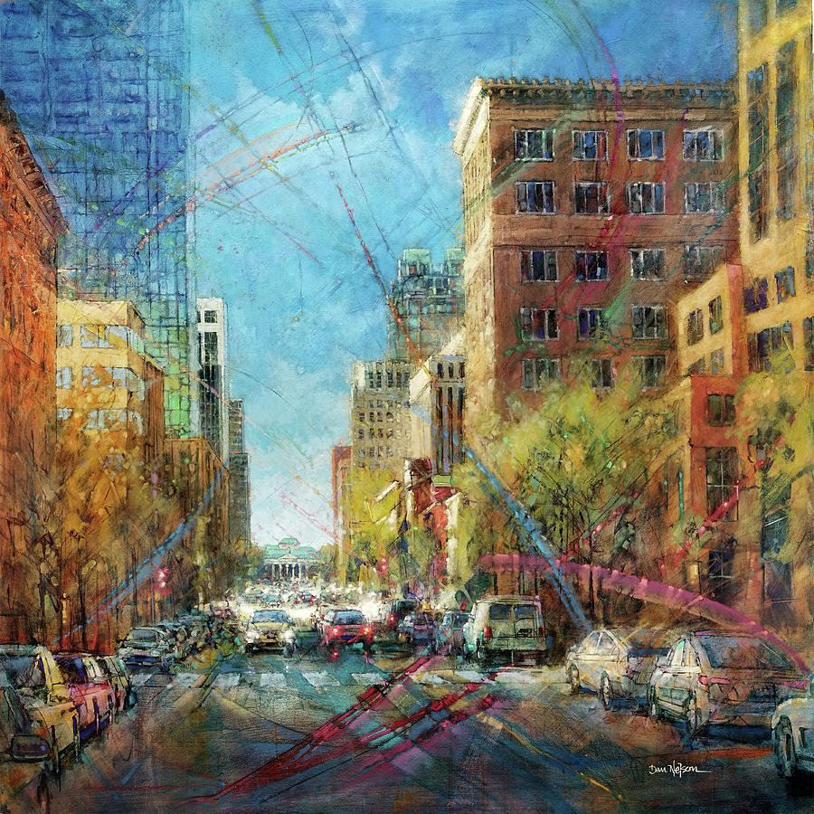 Fayetteville Street Presence - South Painting