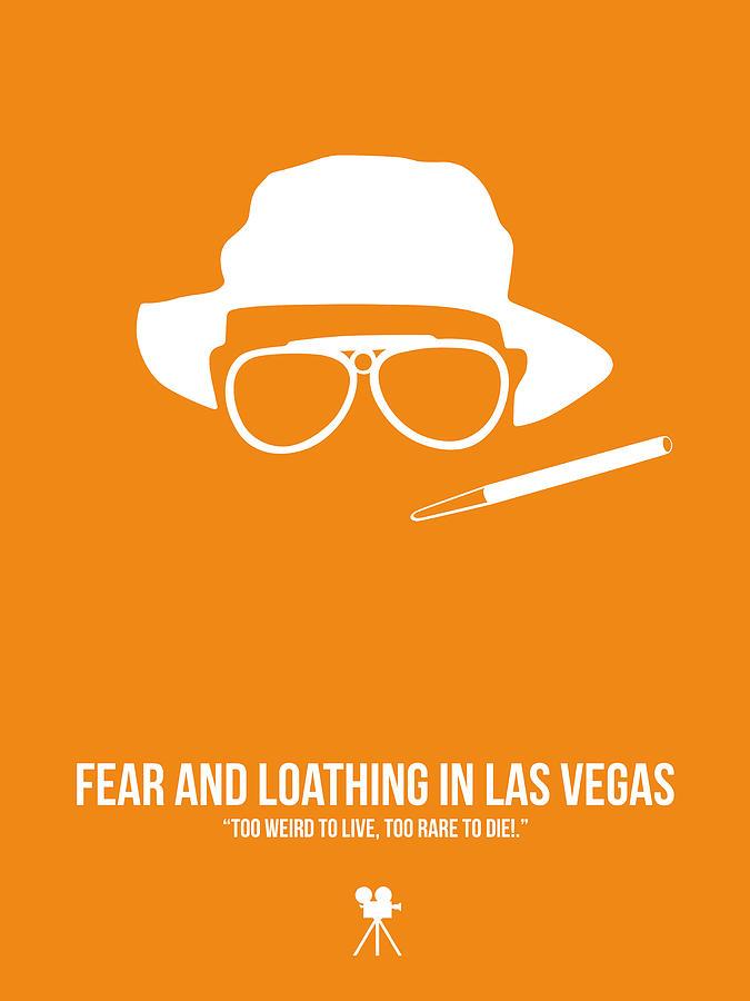 Johnny Depp Digital Art - Fear And Loathing In Las Vegas by Naxart Studio