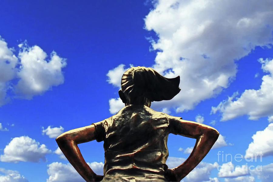 Fearless Girl Statue Photograph