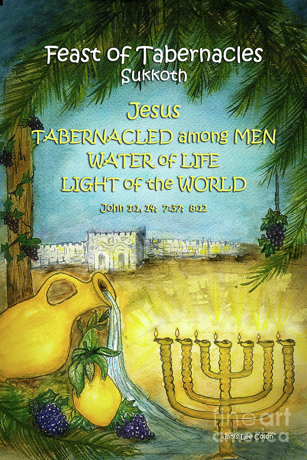 Feast Of Tabernacles Digital Art - Feast of Tabernacles by Janis Lee Colon