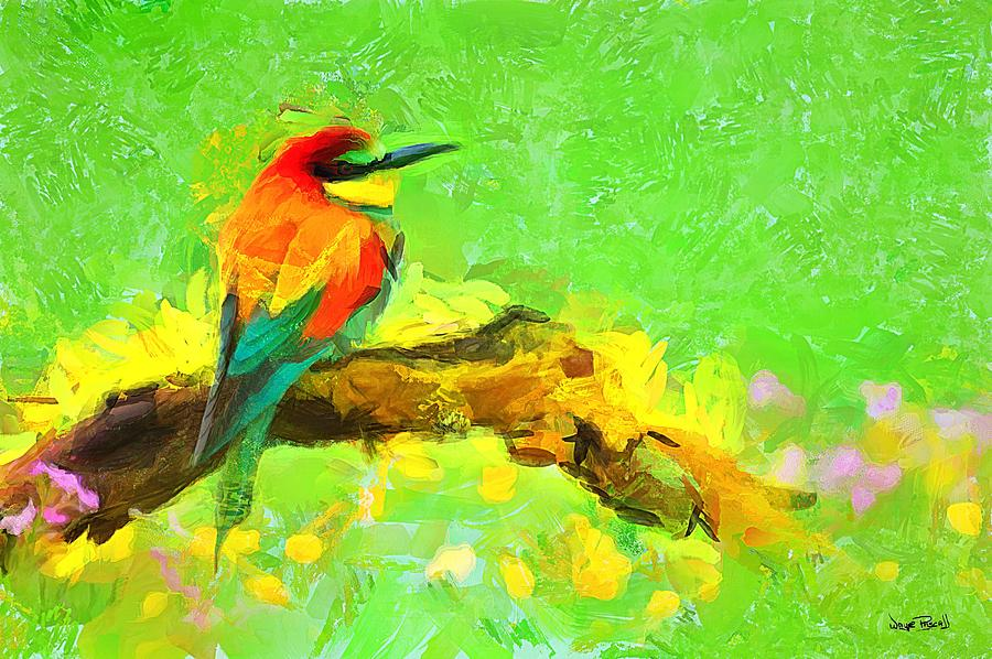 Feathered Friend by Wayne Pascall