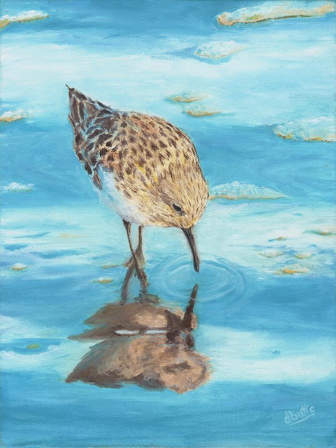 Feathered Reflection by Deborah Butts