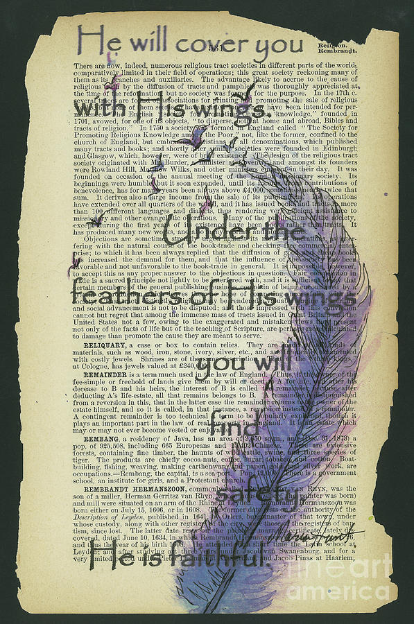 Feathers of His Wings by Maria Hunt