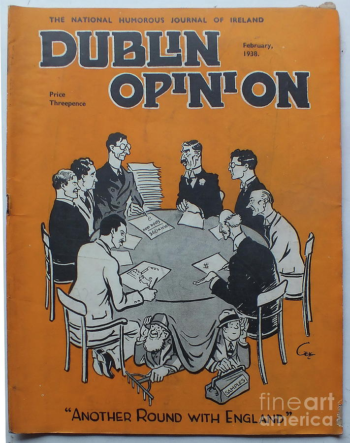 Feb 1938 Dublin Opinion by Val Byrne