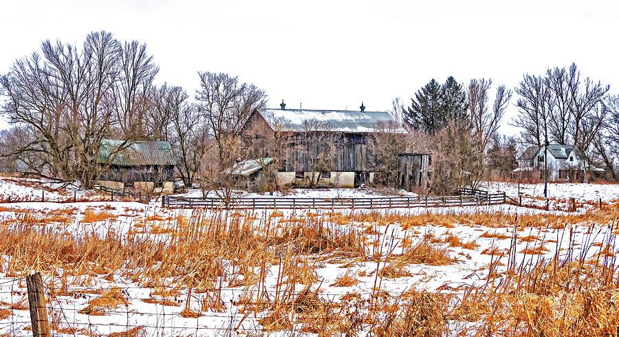 February Farm Photograph