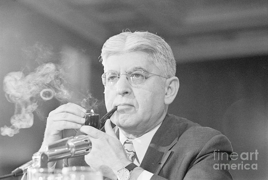 Federal Reserve Board Chair Arthur Photograph by Bettmann