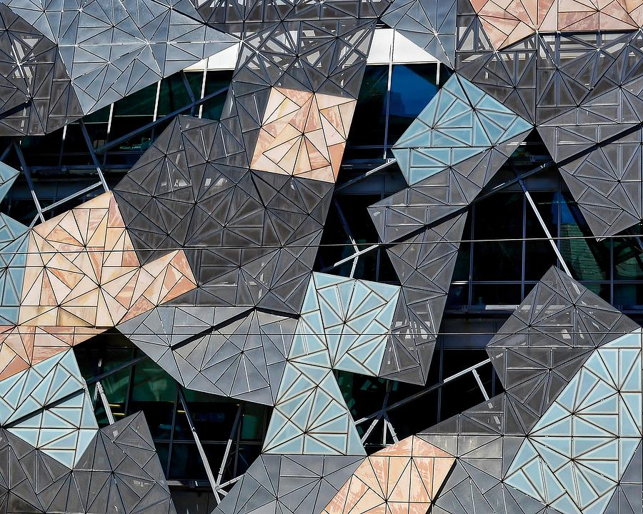 Federation Square by KJ Swan