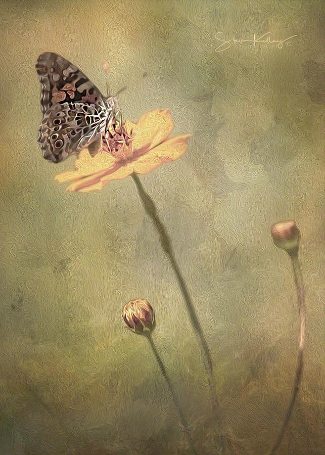 Feeding on Flower by Steve Kelley