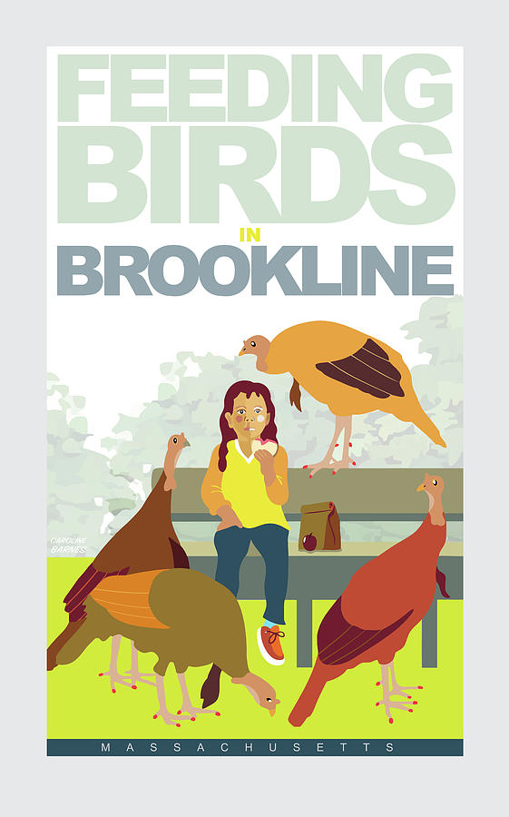 Feeding the Birds by Caroline Barnes