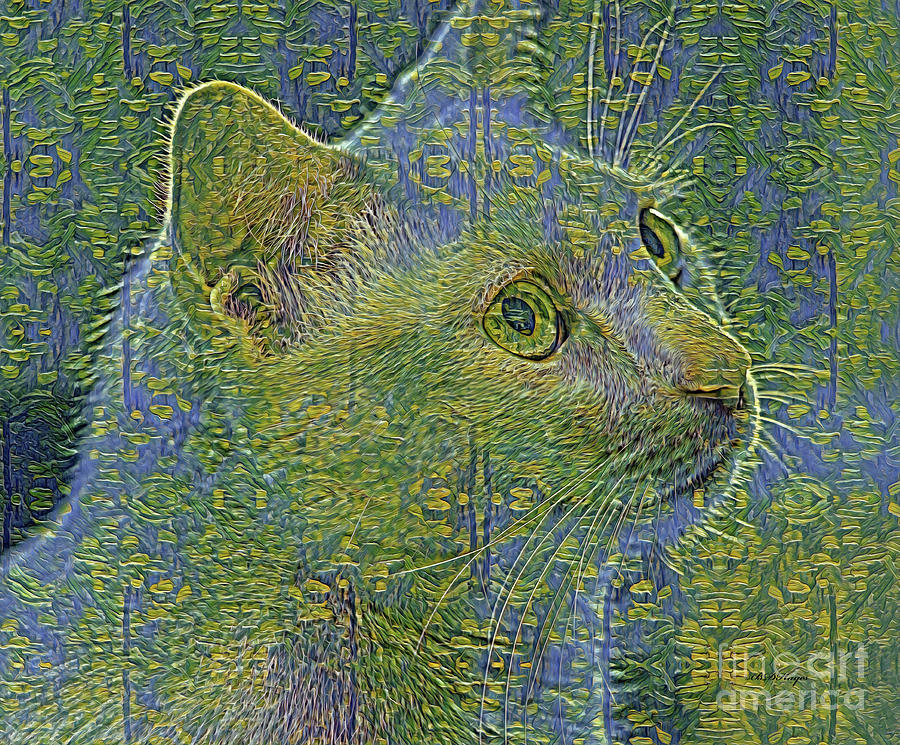 Felines Mixed Media - Feline Art by DBHayes