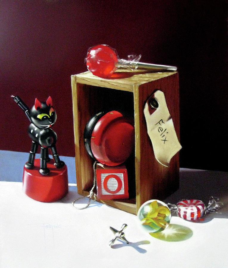 Yoyo Pastel - Felixs Box by Dianna Ponting