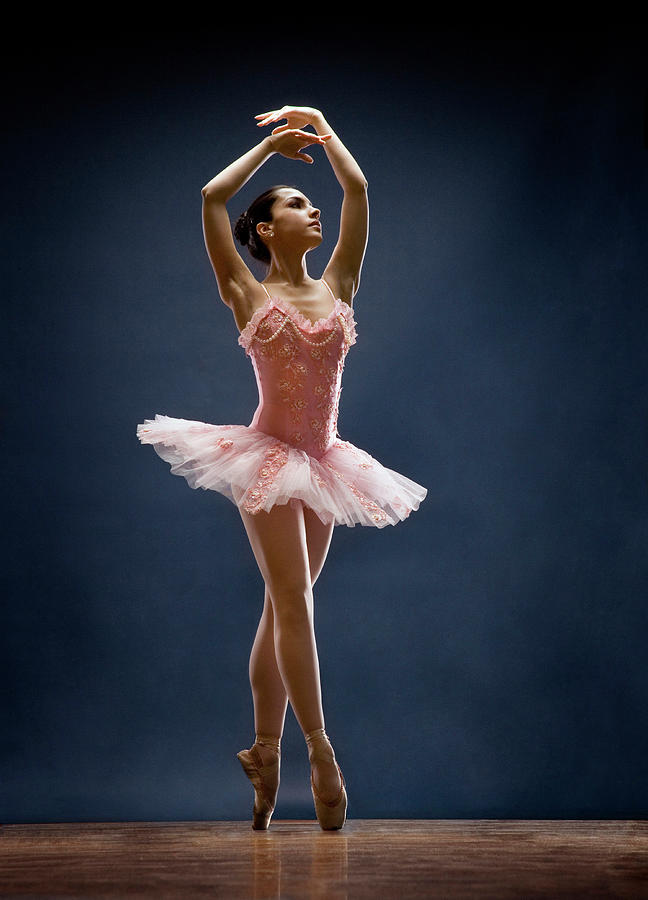 Ballet Dancer Photograph - Female Ballet Dancer Dancing by David Sacks