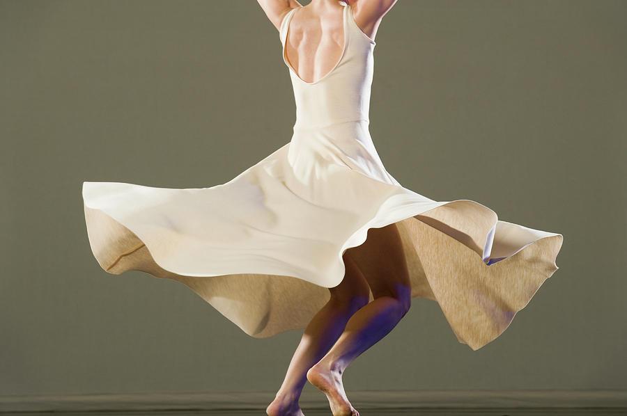 Female Ballet Dancer Dancing Photograph by Erik Isakson