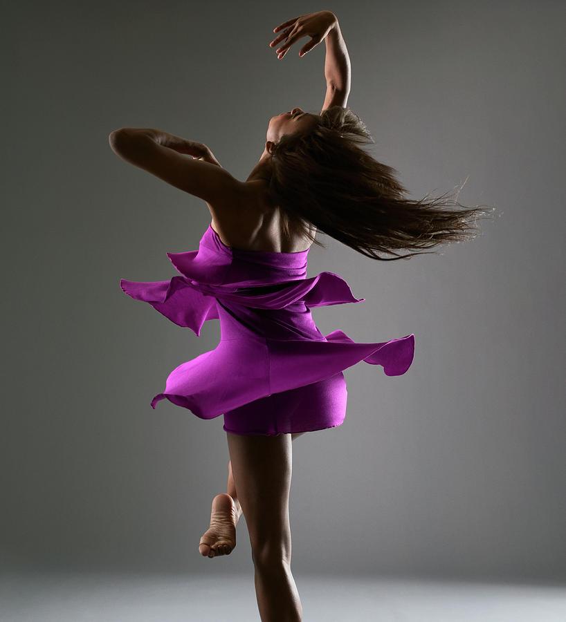 Female Dancing Photograph by Patrik Giardino