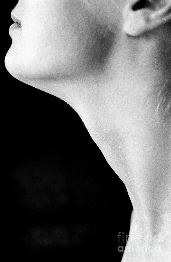 Female Neck Side View by Guido Koppes