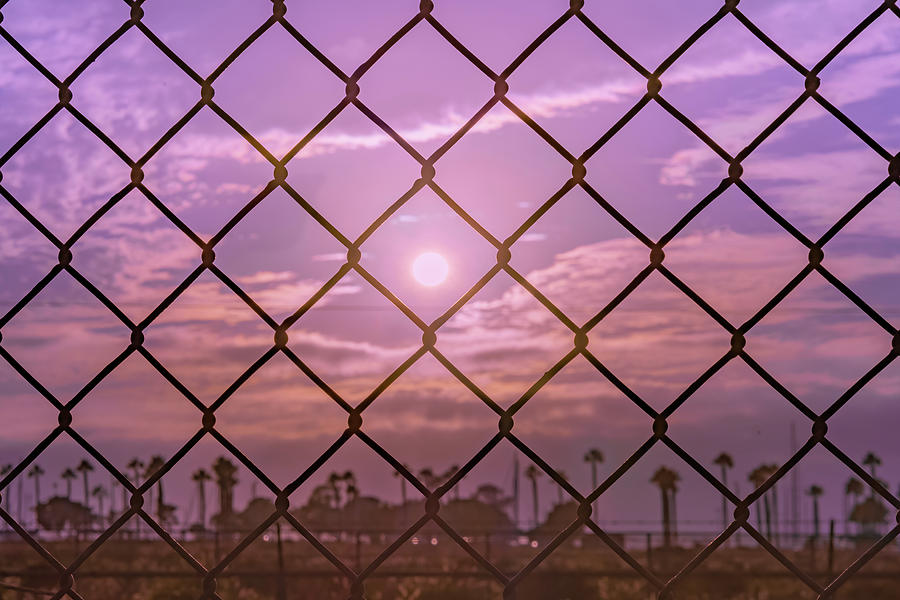 San Diego Photograph - Fenced In by McClean Photography