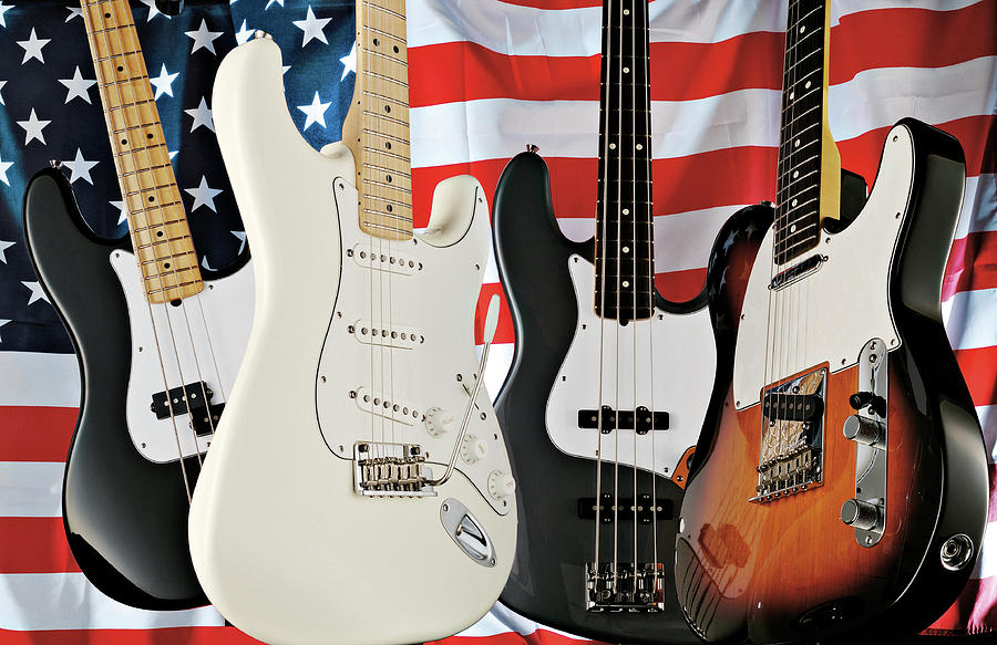 Fender 2008 American Standard Series Photograph by Guitarist Magazine