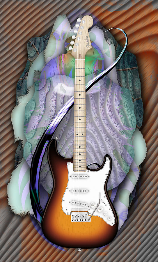 Fender Strat by Marvin Blaine