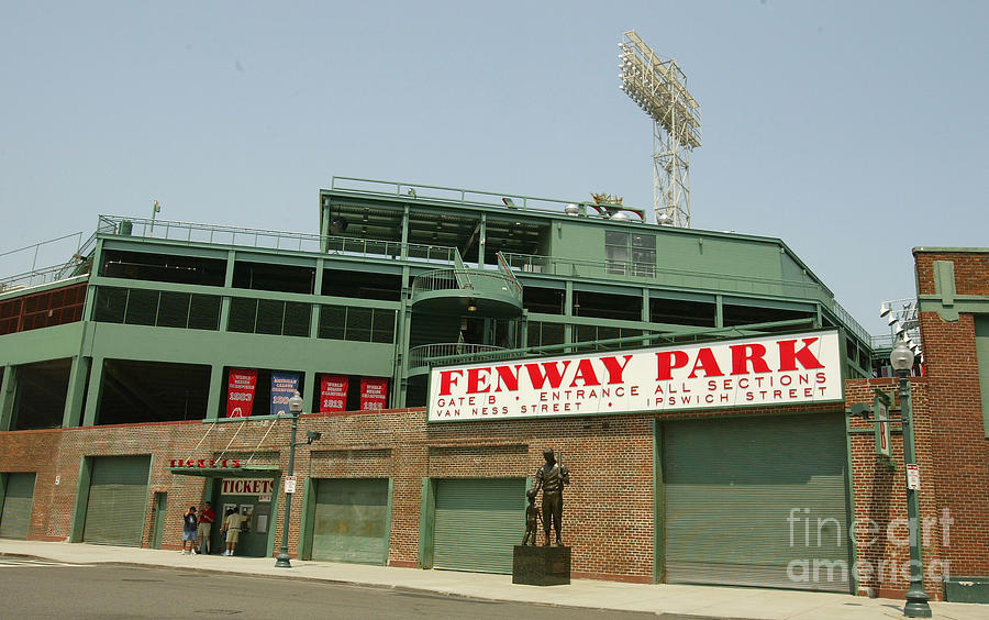 Fenway Park Photograph by Getty Images