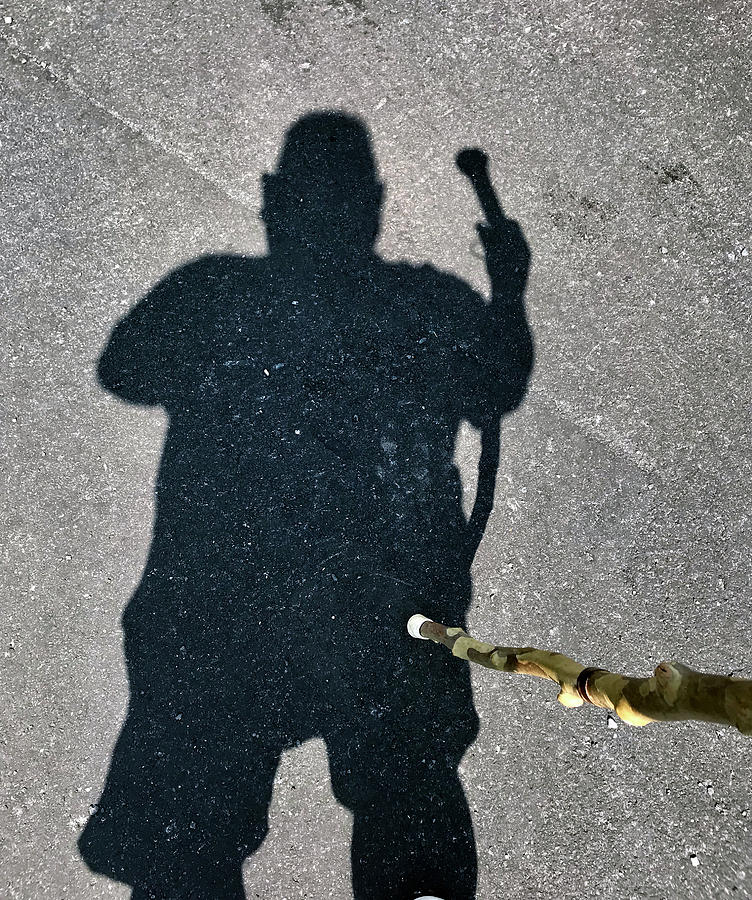 Fenwick Hiker Self Portrait by Kevin Callahan