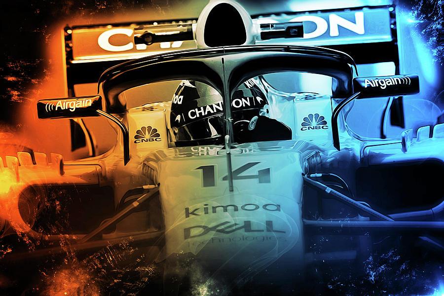 Fernando Alonso, Mclaren F1 - 04 by Andrea Mazzocchetti