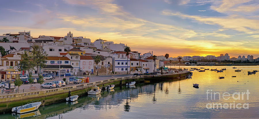 Ferragudo sunset by Mikehoward Photography