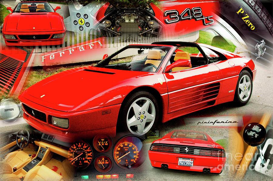 Ferrari 348ts by Charles Abrams
