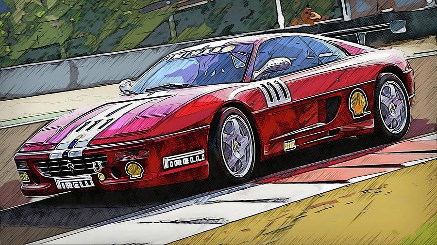 Ferrari F355 Challenge - 59 by Andrea Mazzocchetti